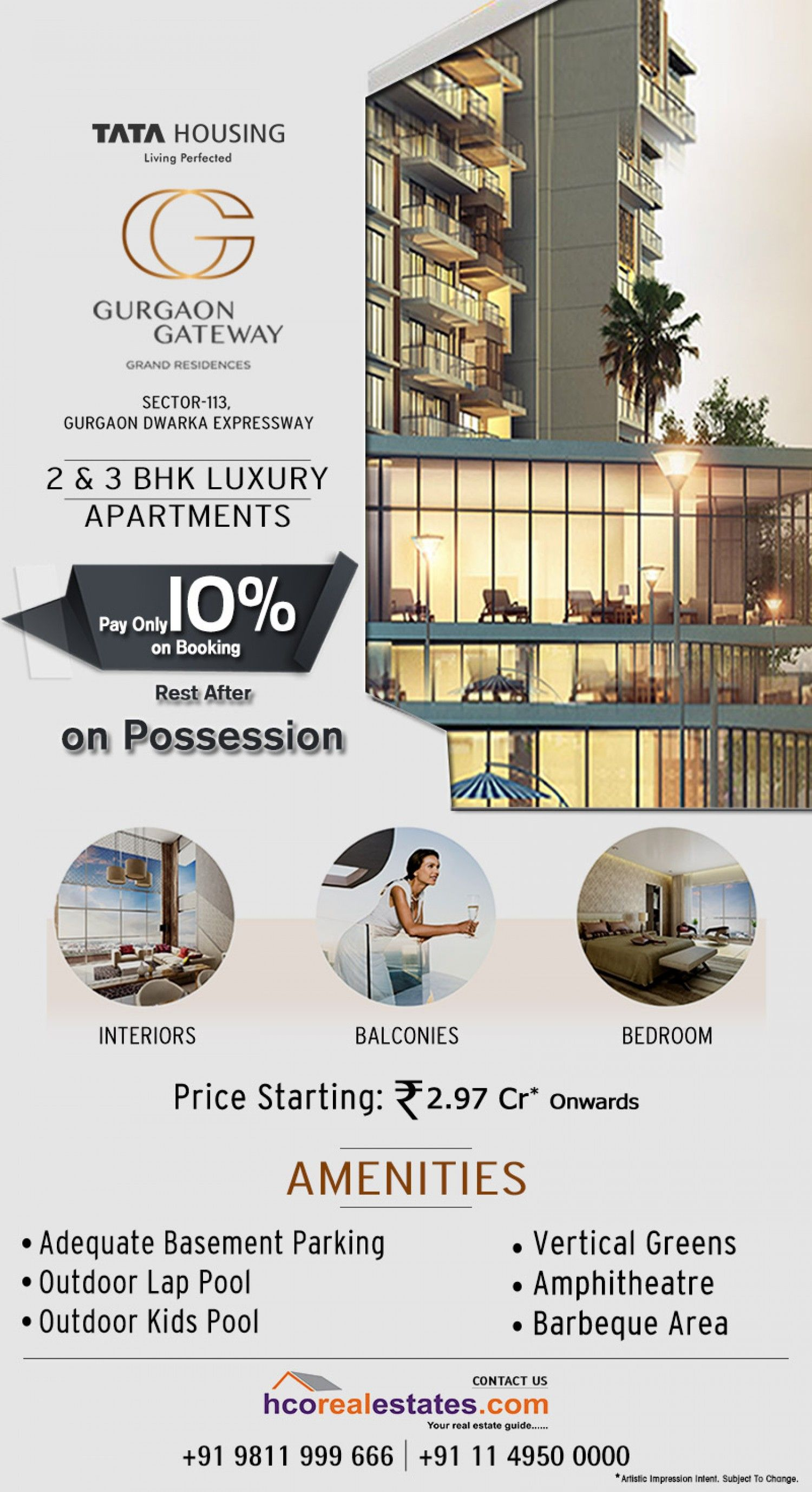 Gurgaon Gateway A Residential Project At Sector 112 113 Infographic Real Estate Sign Design Real Estate Marketing Design Real Estates Design