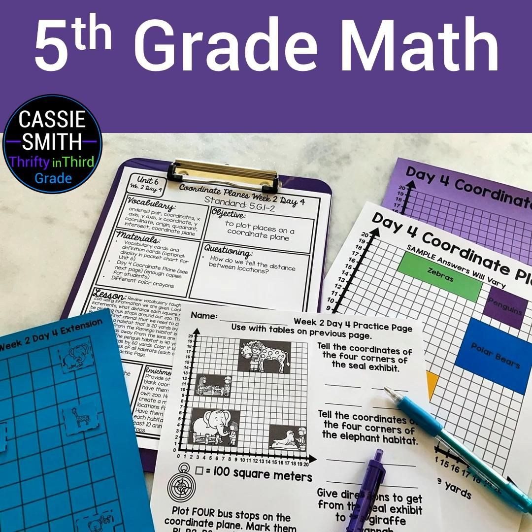 5th Grade Math Video In 2020 5th Grade Math Guided Math Fifth Grade Math [ 1080 x 1080 Pixel ]