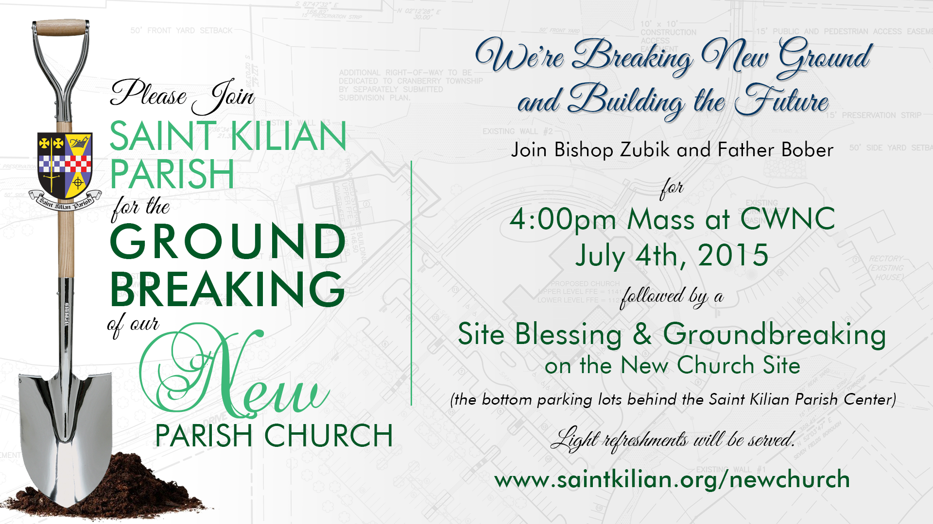 Image Result For Church Groundbreaking Invitation Template Ground