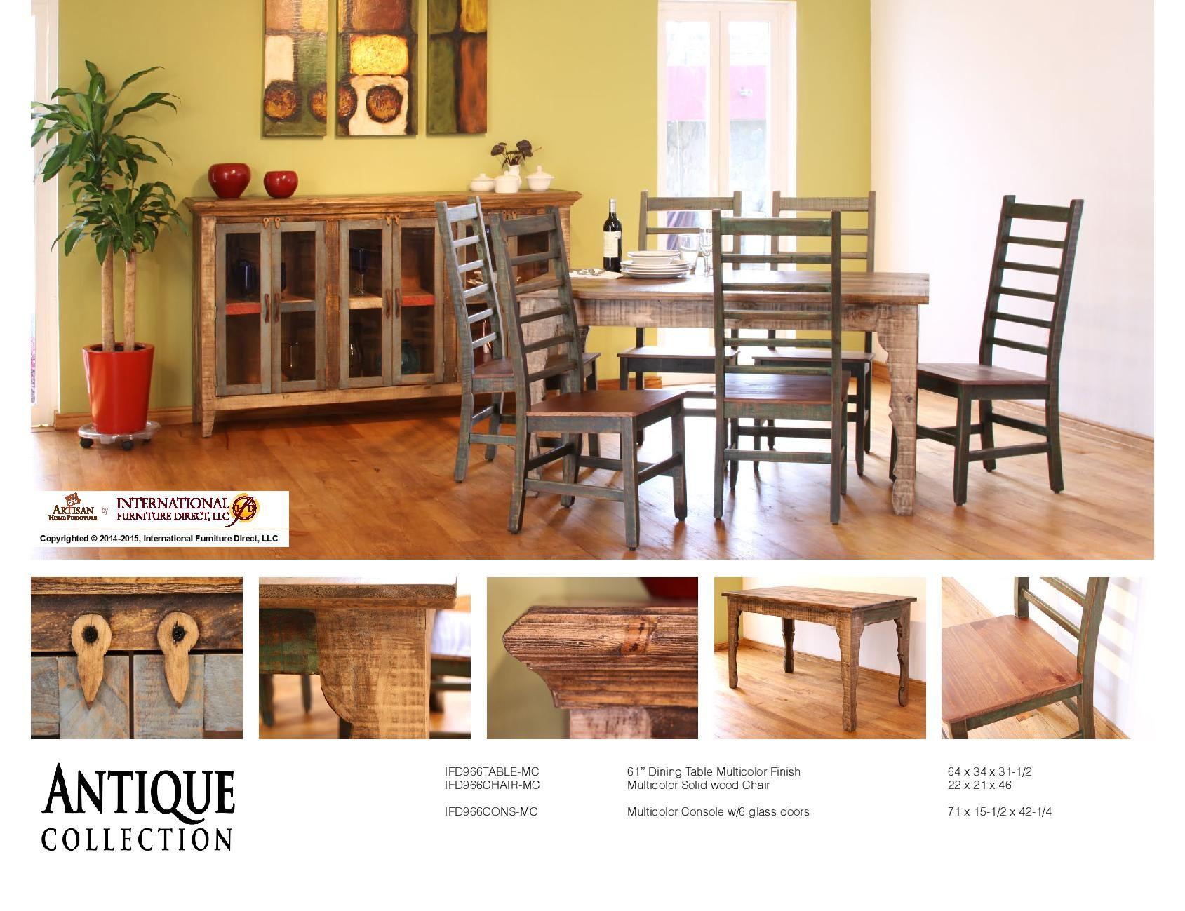 International Furniture Direct Dining Sets Horizonfurniture