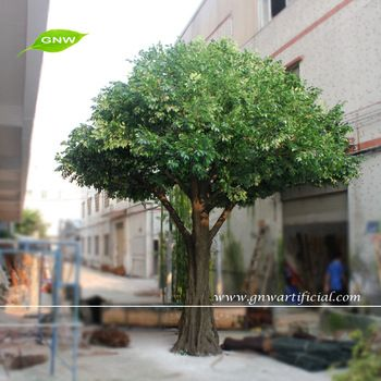 Gnw Btr027 Factory Direct Wholesale Large Artificial Banyan Tree For Garden Landscaping Artificial Cherry Blossom Tree Artificial Tree Artificial Plants