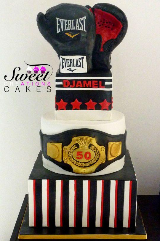 Boxing Cake Party Ideas Birthday Cake Bithday Cake