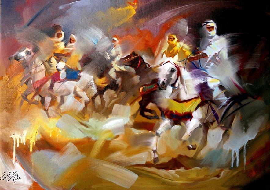 IRAQI Painter ALİ NEMAH الفنان العراقي المبدع علي نعمة