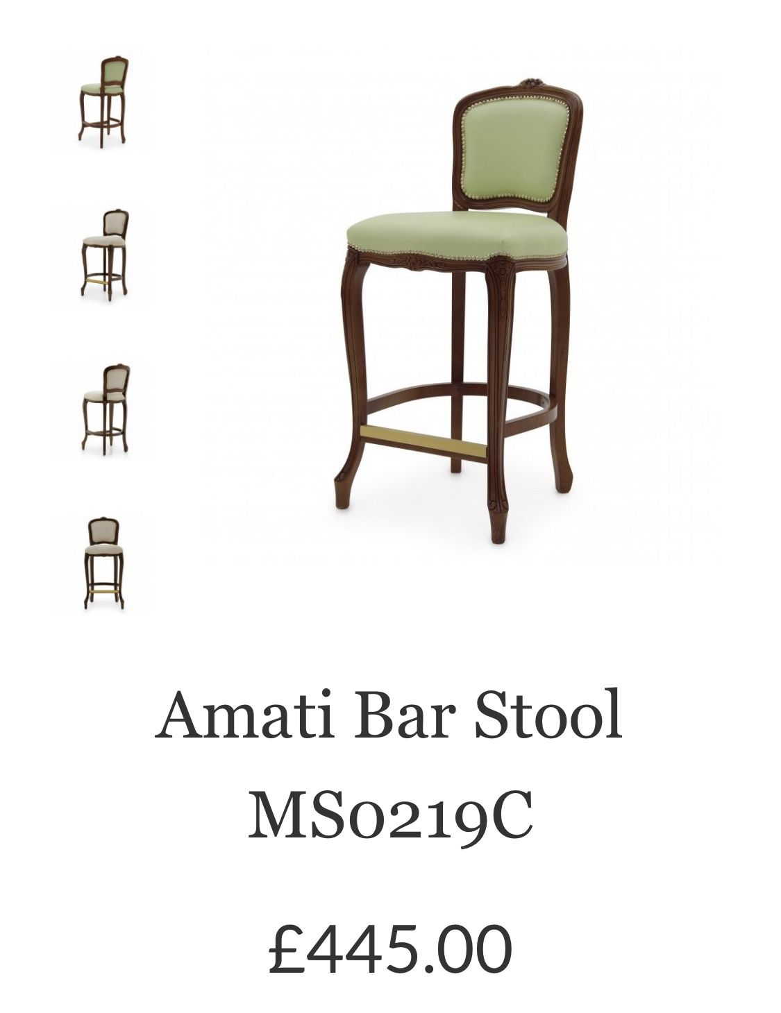 55da709176b3 The  wood finish and  upholstery can be  customised to achieve an  exclusive