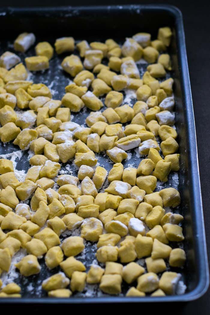 Gnocchi de Moranga com Molho de Manteiga e Sálvia
