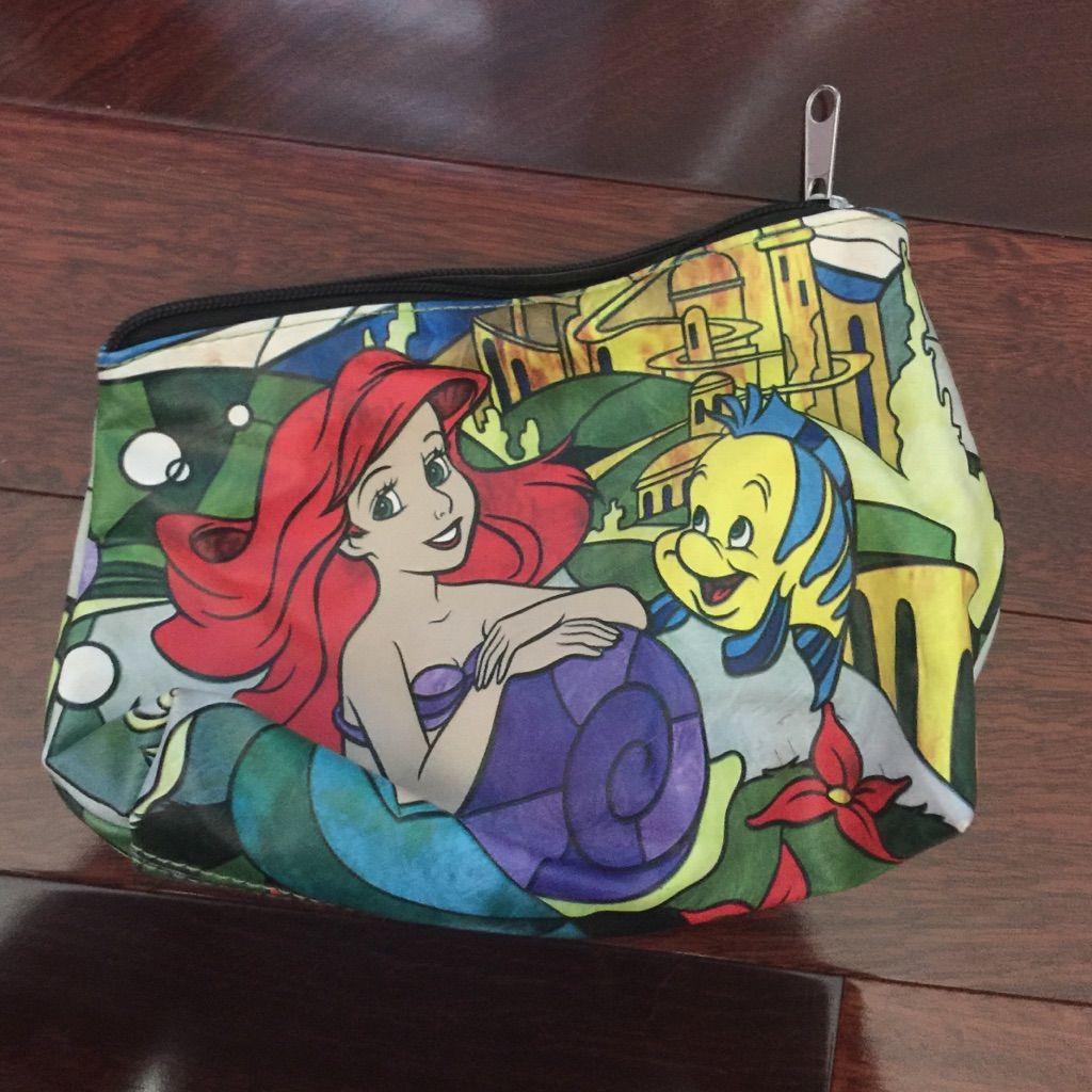 Little Mermaid Cosmetic Bag