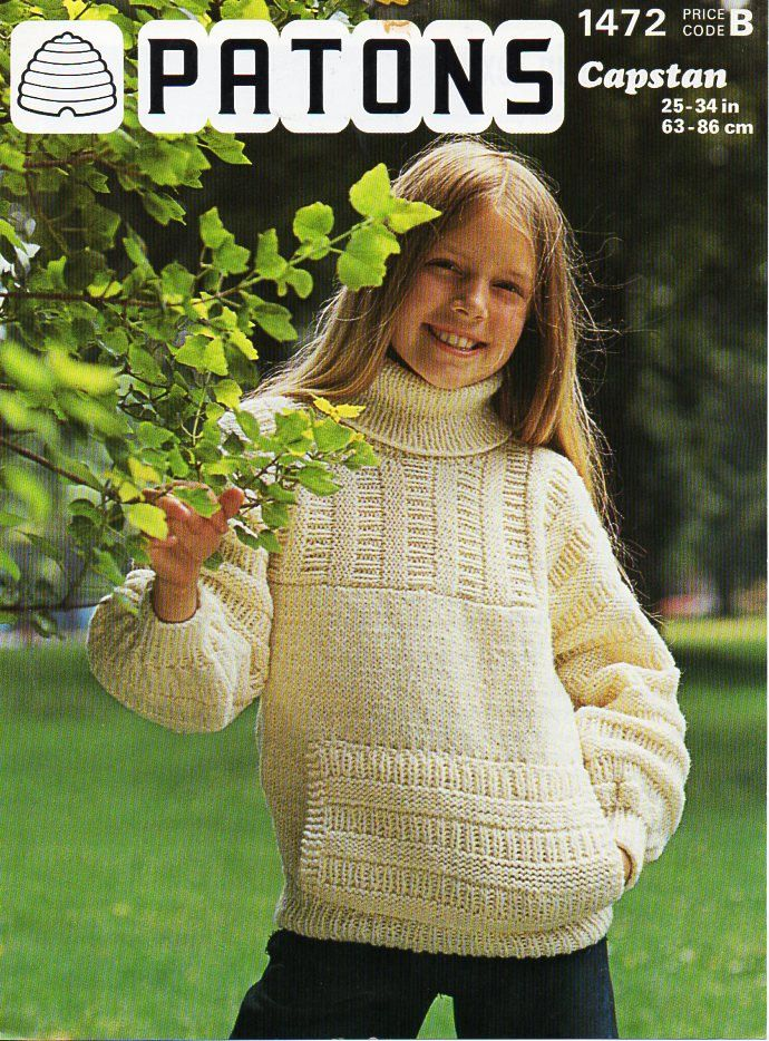 Boys Girls Pastry Patterns Lovely Sweaters Soft Warm Kids Sweater