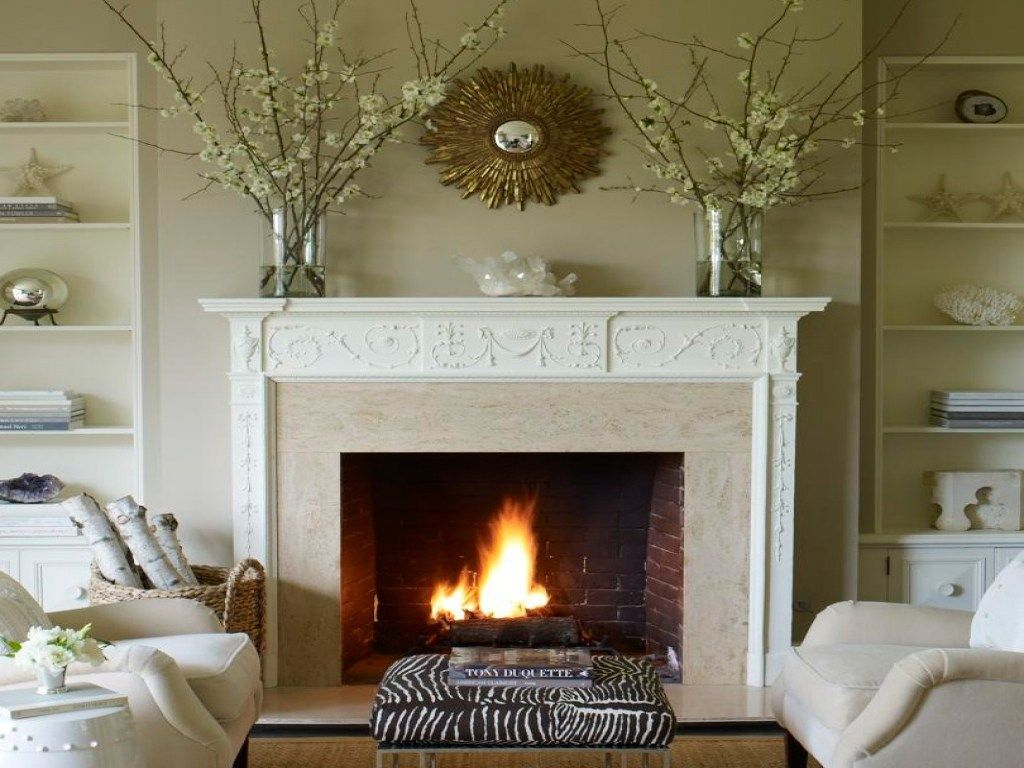 Cushty S Large Fireplace Mantel Decorating Ideas Large Firep