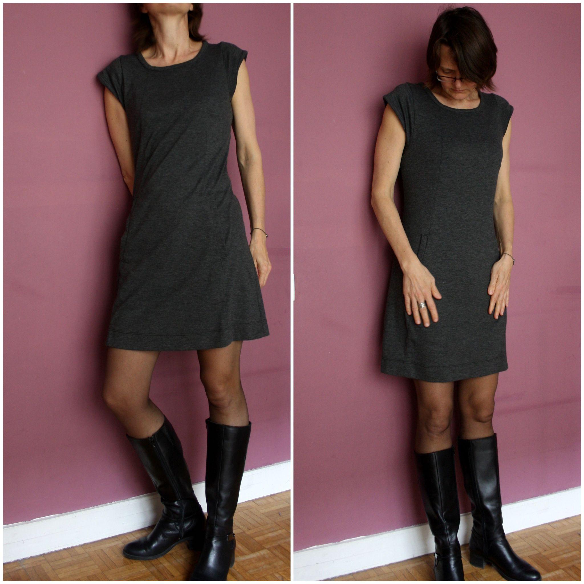 Populaire La PRG : Petite Robe Grise - La cabane d'Elilou | blog couture  GD47