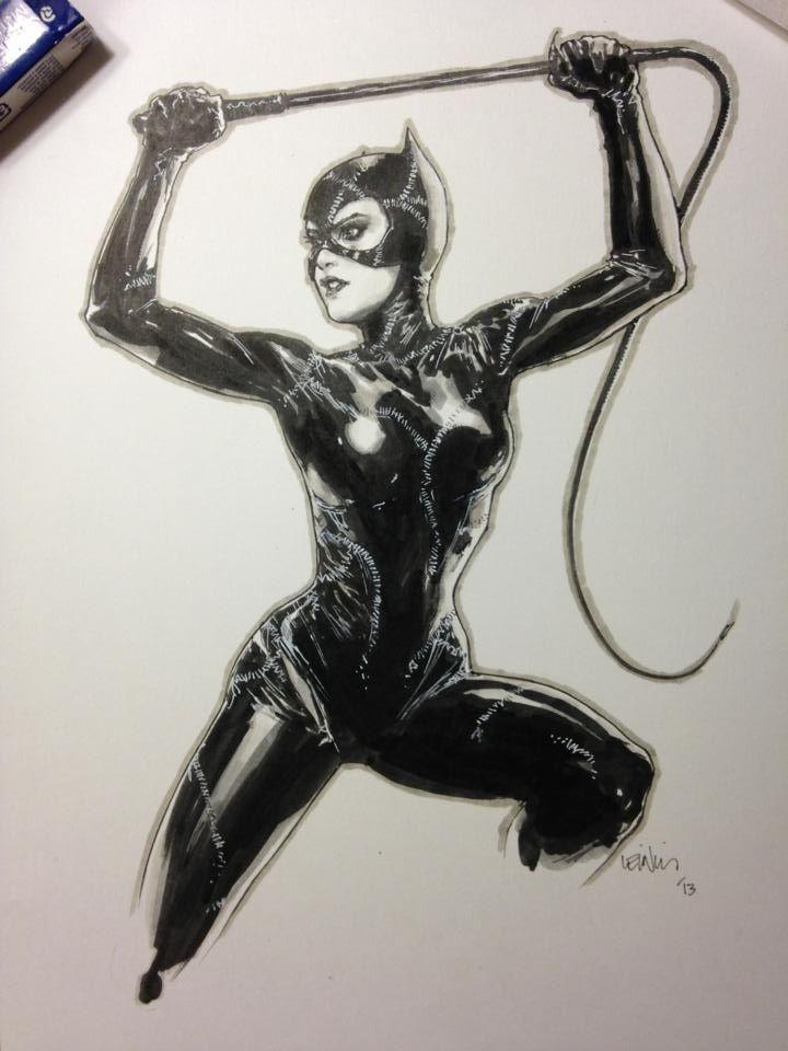 batman movie catwoman by leini francis yu
