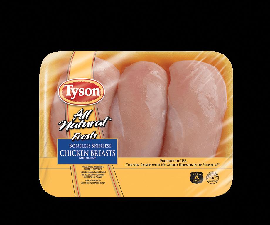 Fresh Boneless Skinless Chicken Breasts Uncooked Chicken Products