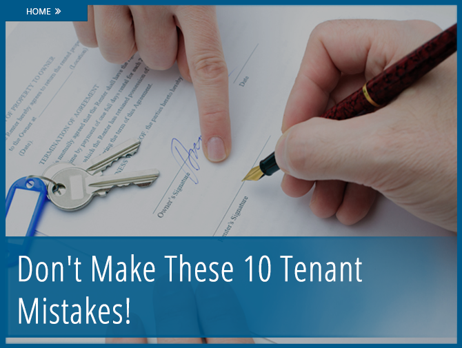 The  Most Common Mistakes Renters Make  Apartments Renting And