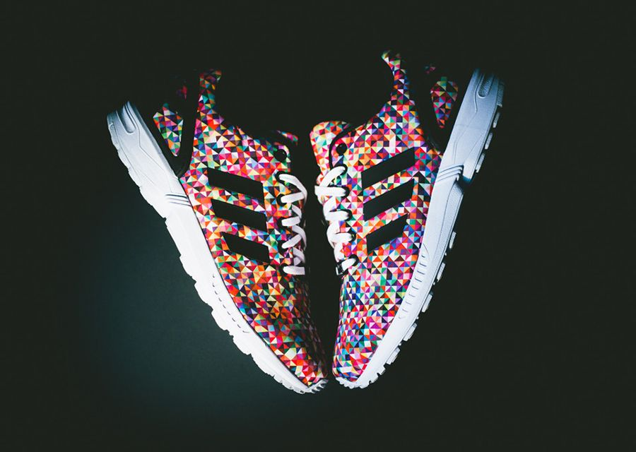 Adidas Zx Flux Prism On Feet