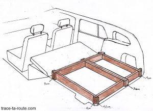 road trip comment am nager sa voiture break pour dormir dedans pour dormir dormir et. Black Bedroom Furniture Sets. Home Design Ideas