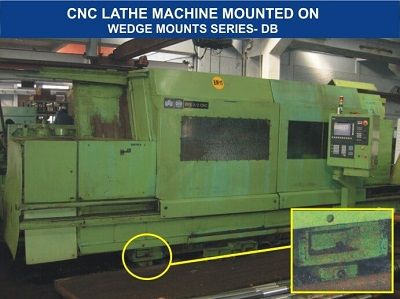 Vibration Isolation AVMounts for CNC #Lathes - Tool Room Machines