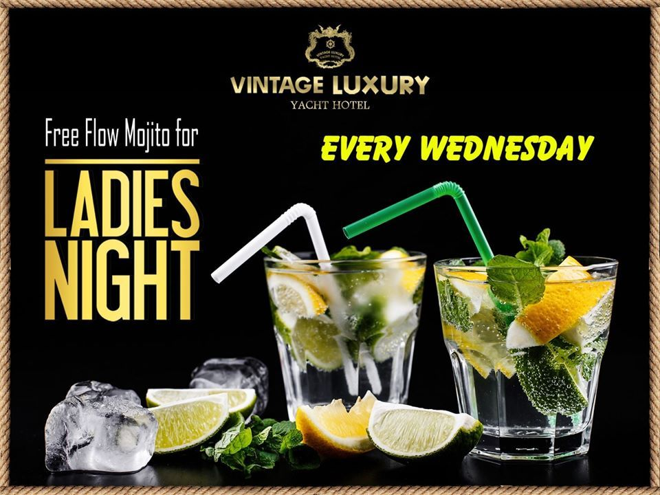 Enjoy unplugged music  with 🍸🍸Free Flow Mojito on Wednesday night, sit in open deck,inside the bar or snooker.  Reserve your table now !! ☎️ Contact: 09254443324, 09254443326, 09254443328. #LadyNightPromotion #FreeFlowMojito #Unpluggedmusic #Vintageyachthotel #Myanmar