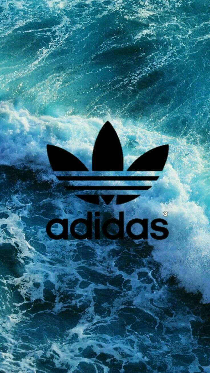 Adidas ocean Iphone 6 wallpaper backgrounds, Waves