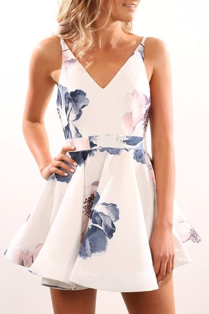 Primary Dress White