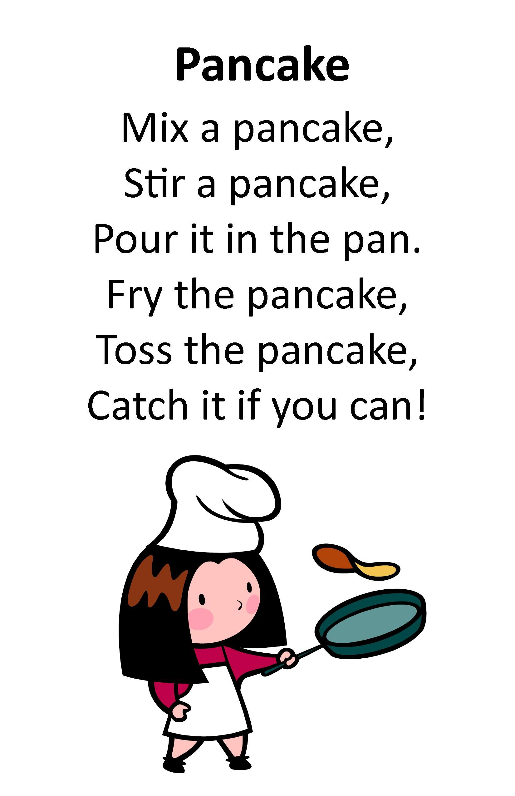 Itty Bitty Rhyme Pancake