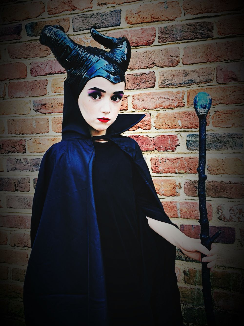 Kids Maleficent Costume Maleficent Makeup Kids Fashion In