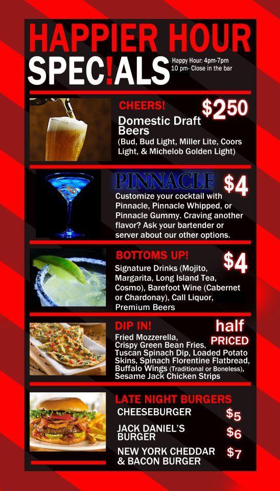 Happier Hour Specials Happyhour Cocktails Tgif Happy Hour Specials Coors Light Miller Lite