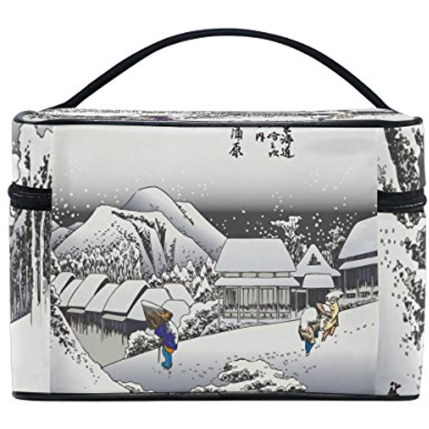 45491ed861 Ukiyoe Ukiyo-E Print Japanese Art Travel Makeup Toiletry Organizer Case  Cosmetic Bag   Visit the image link more details. (This is an affiliate  link)   ...