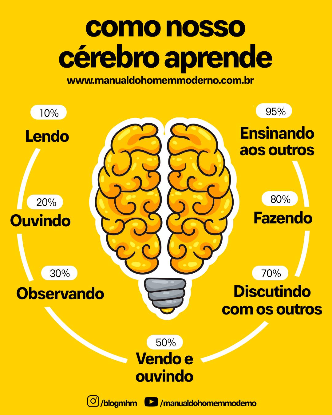 Manual de como nosso cérebro aprende | Como estudar, Como estudar ...