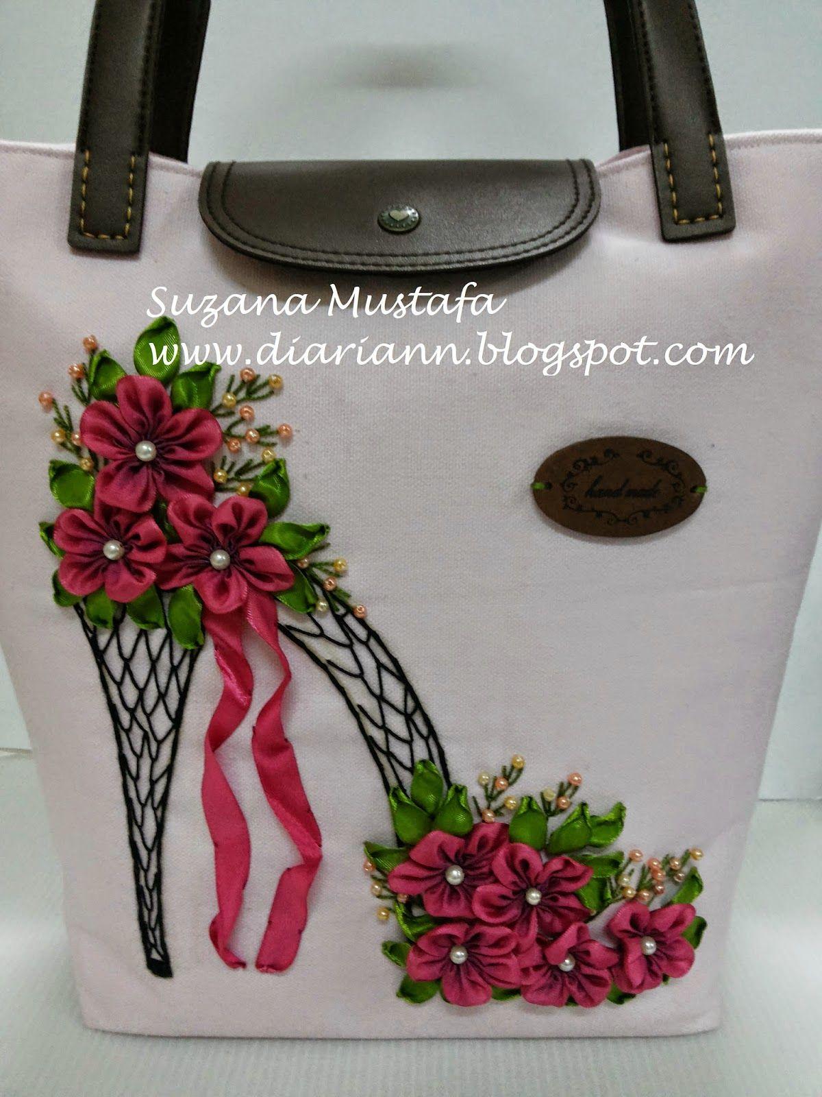 Suzana Mustafa Hand Bag Bolsos Carteras Pinterest Ribbon