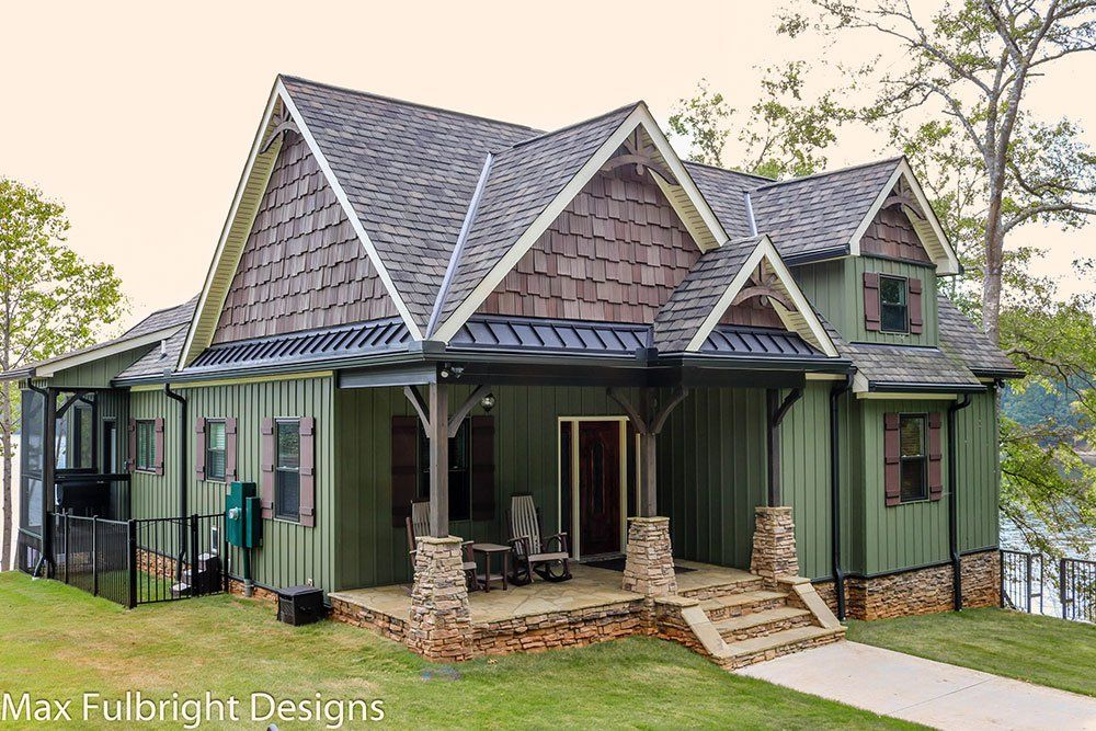Our Autumn Place By Max Fulbright Is A Small Rustic Cottage Style House Plan  With Craftsman