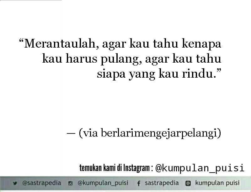 Puisi Pendek Kumpulan Puisi Berlari Mengejar Pelangi Indonesian