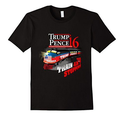 Men's Trump Pence 2016 Train Ain't Stopping Presidential ... https://www.amazon.com/dp/B01IS0LUZC/ref=cm_sw_r_pi_dp_kTaKxb8Y6WP1Y