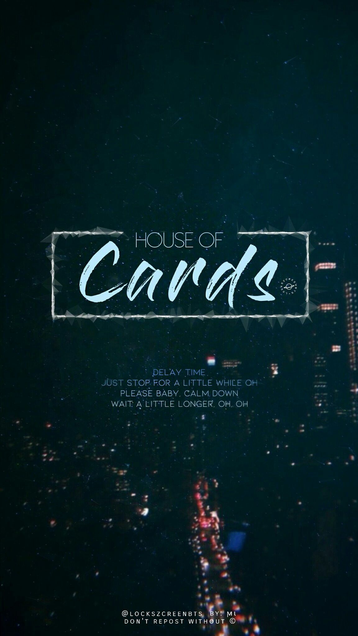 Bts House Of Cards Wallpaper Lockscreen Bts Lockscreen Header