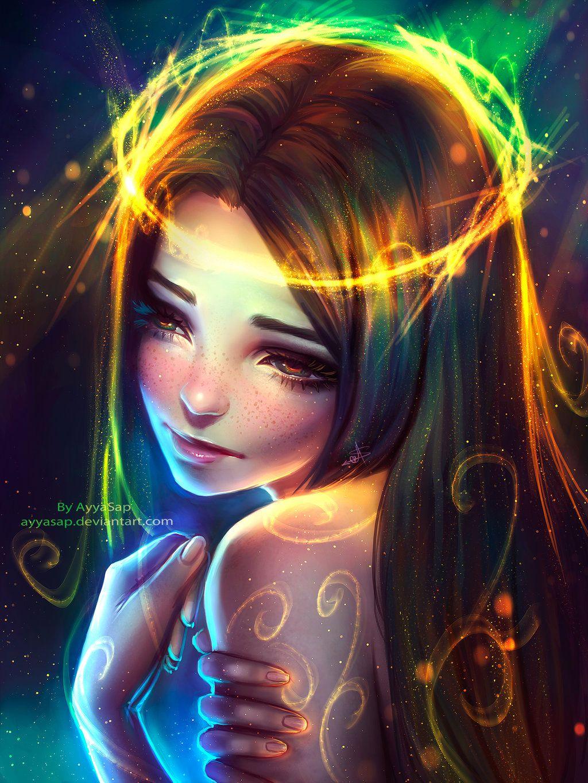 My Colorful Sadness Anime Art Girl Digital Art Girl Girly Art