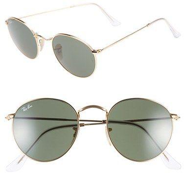 f7995887ad5de Explore Óculos De Sol De Armação Redonda e muito mais! Ray-Ban 50mm Rounded  Sunglasses