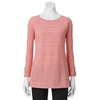 kohls womens sweatshirts