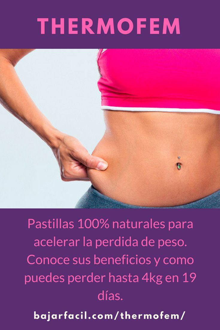 Complementos naturales para perder peso