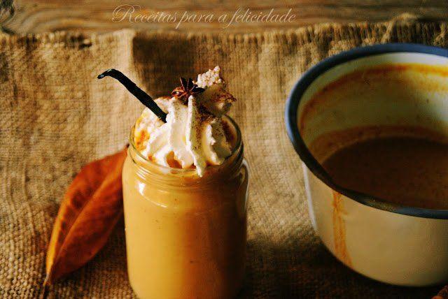 """""""Latte"""" de Abóbora com Especiarias - http://gostinhos.com/latte-de-abobora-com-especiarias/"""