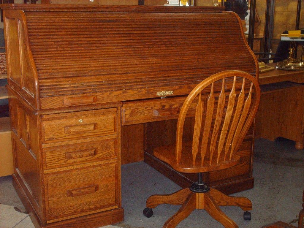 Used Roll Top Desk Roll Top Desk Desk Furniture