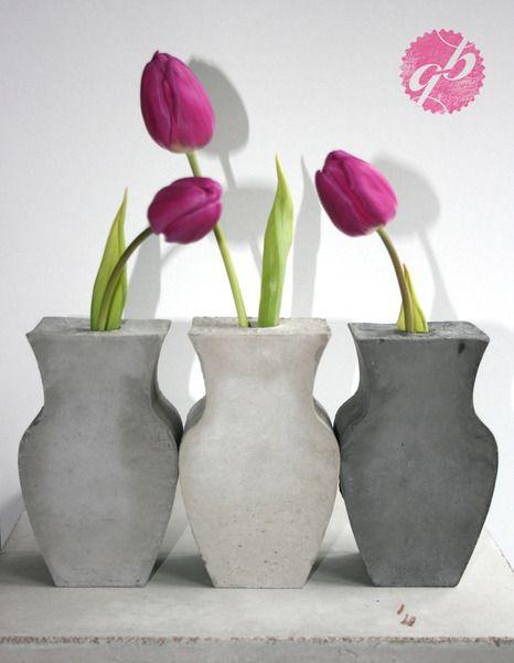 glänzend graue betonwüste | happyhomeblog | concrete | pinterest, Gartenarbeit ideen