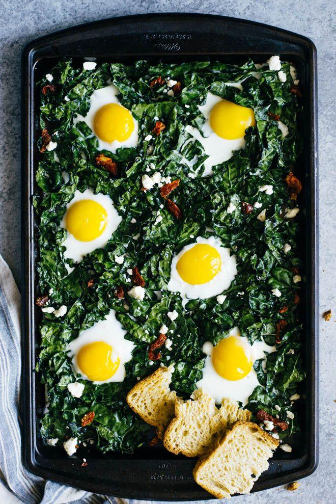 Kale & Egg Bake - a simple gluten-free breakfast ready in just 20 minutes…