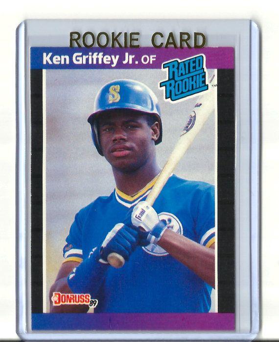 1989 Donruss 33 Ken Griffey Jr Rookie Card Seattle