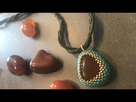 Photo of The best beaded bezel for odd shaped stones-#beaded #bezel #Odd #shaped #stones
