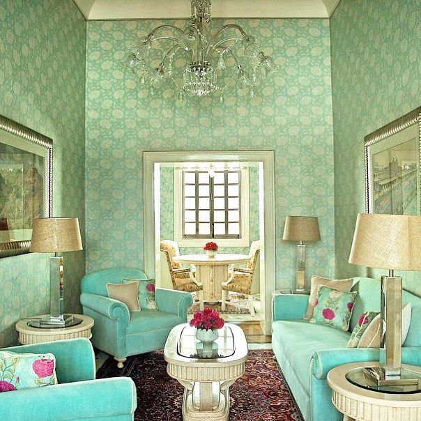 The Sitting Room In The Kennedy Suite At Rajmahal Palace