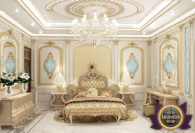Cozy Bedroom Interior Design Of Luxury Antonovich Design  Katrina Gorgeous Cozy Bedroom Design Decorating Design