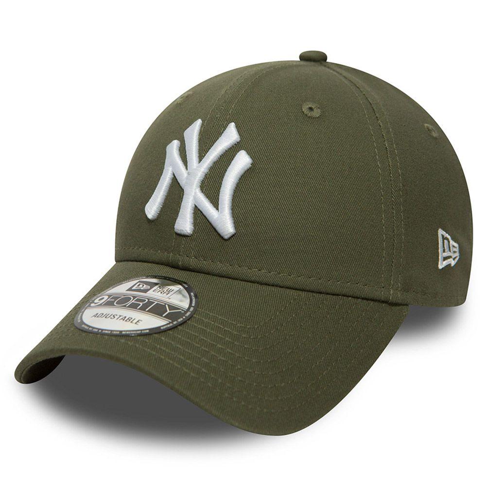 New Era New York Yankees 9FORTY Cap Olive
