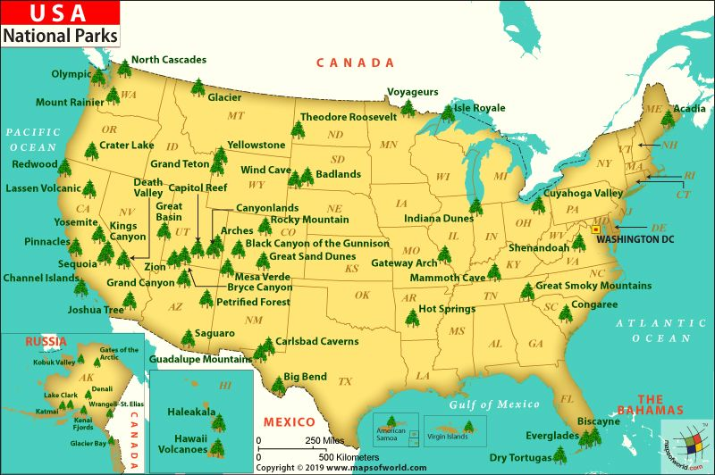 Map Of Us State Parks Pin on Places to visit