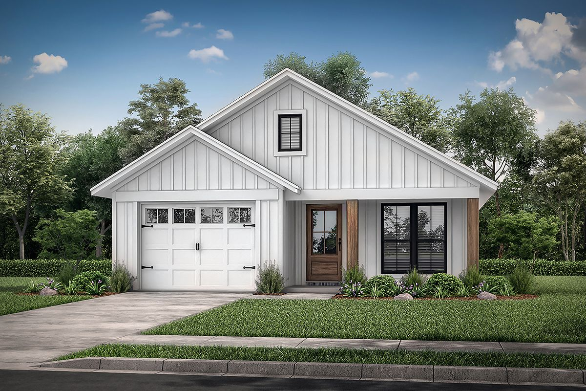 Modern Farmhouse House Plan 041