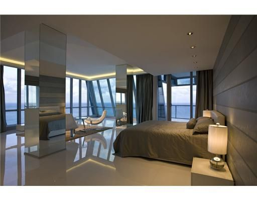 I could totally sleep in this bedroom in Sunny Isles, Florida... the PH is only $33K a month. OMG!!!!!!!!!!!!!!!