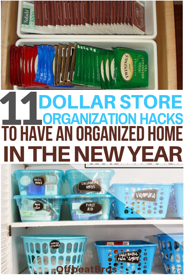 10 mind blowing dollar store organization hacks that are on new garage organization ideas on a budget a little imagination id=72749