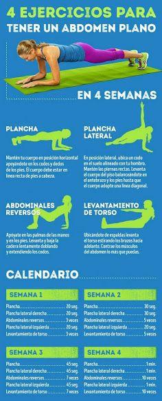 ejercicios para bajar de estomago